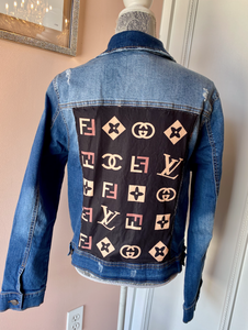MULTI DENIM JACKET (PLUS SIZE)