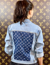 LIGHT LV DENIM JACKET