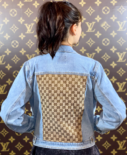 GG LIGHT DENIM JACKET