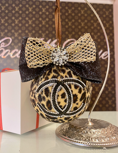 CC LEOPARD ORNAMENT