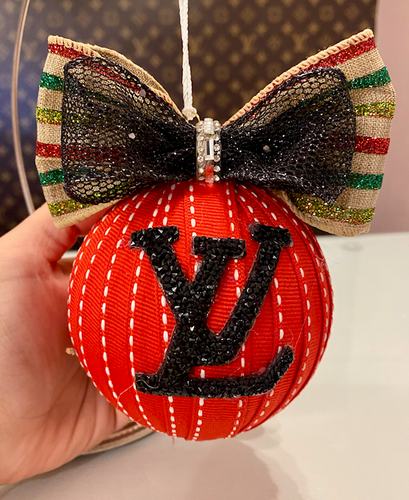 RED LV ORNAMENT