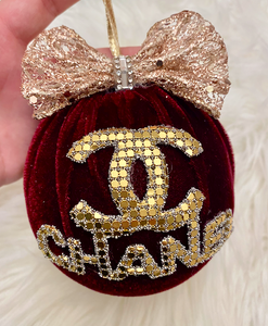 RED CC ORNAMENT