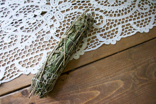 "The Self-Love 9"" White Sage & Lavender Smudge Wand"