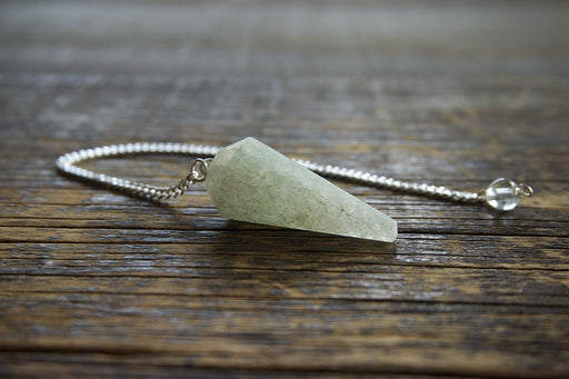 Green Quartz Pendulum