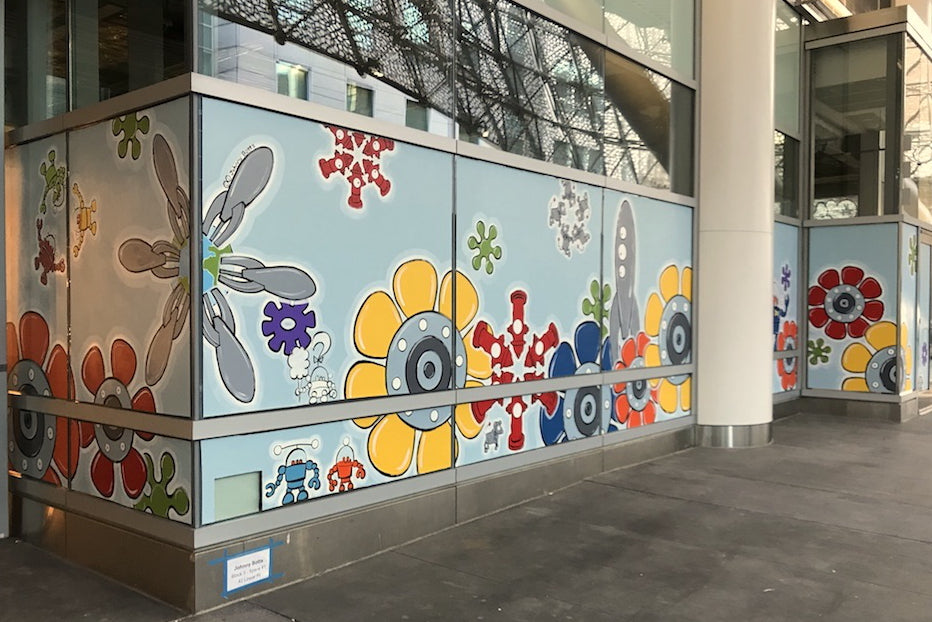 Saleforce Transit Center Mural