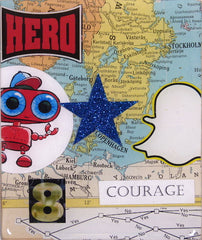 Johnny Botts art, Countdown to the election: Day 8-Courage