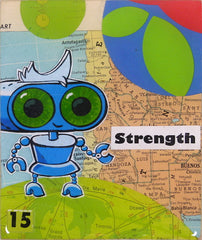 Johnny Botts art: Strength