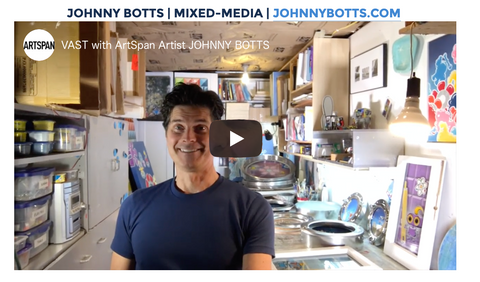 ArtSpan VAST: Virtual Artist Studio Tour--Johnny Botts