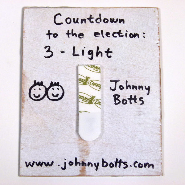 Countdown to the Election: Day 3-Light