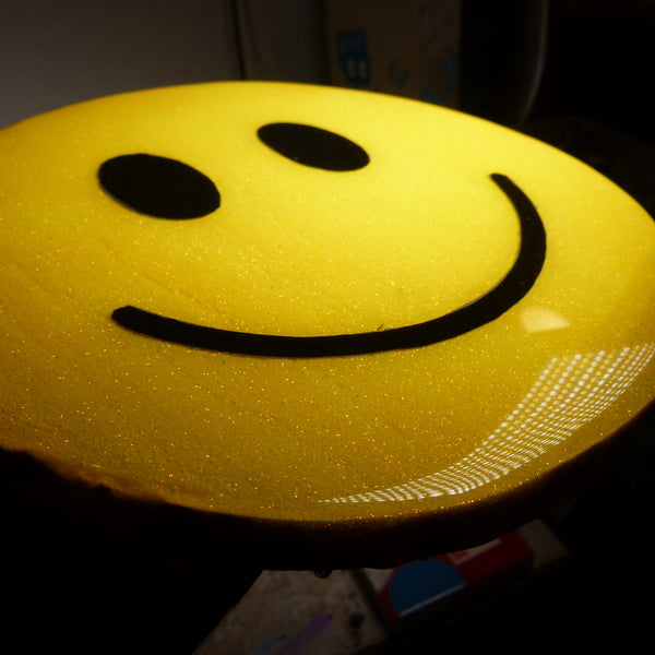 Smiley Series: Yellow Sparkle