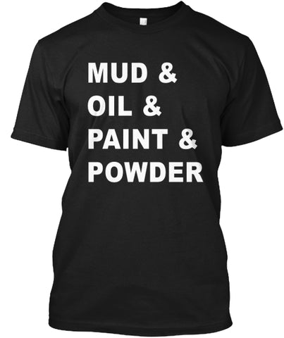 Mud Oil Paint Powder