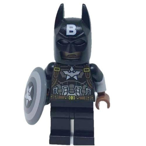 Batman Captain America Black