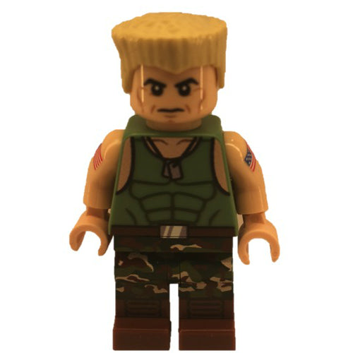 Street Fighter Guile Minifigfactory