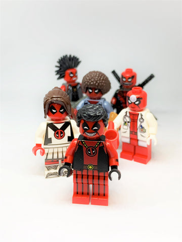 Deadpool set of 6
