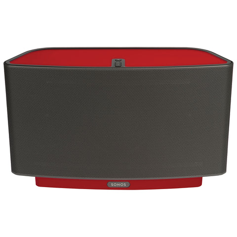 Front Sample View ColourPlay Skin SONOS PLAY:5 Racing Red Gloss (Each)