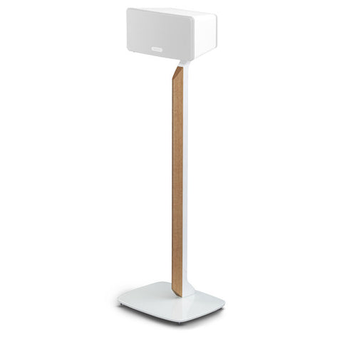 Flexson Premium Floor Stand for Sonos PLAY:3 (White/English Oak)