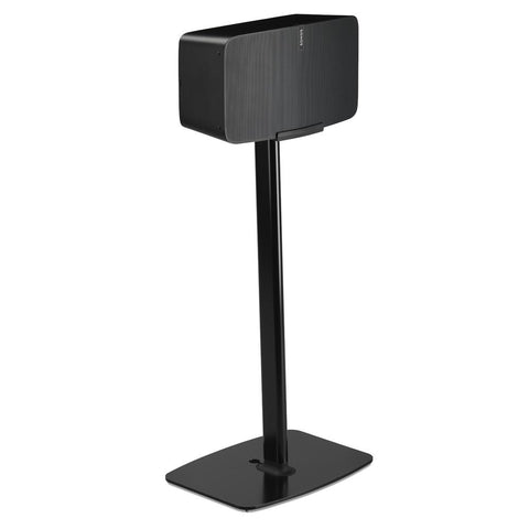 FLEXSON Floor Stand for SONOS PLAY:5 (Single, Black)