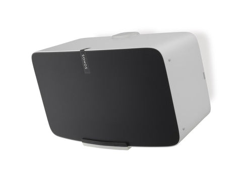 FLEXSON Horizontal Wall Mount for SONOS PLAY:5 (Single, White)