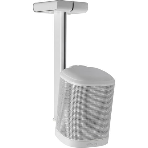 FLEXSON Ceiling Mount for SONOS ONE or PLAY:1 (Single, White)