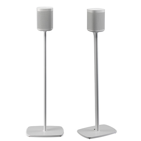 FLEXSON Floor stand for SONOS ONE or PLAY:1 (Pair, White)