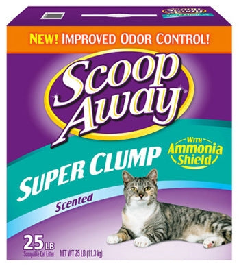 Scoop Away Super Clump Scented Cat Litter