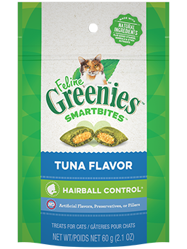 Greenies Smartbites Hairball Control Tuna Cat Treats