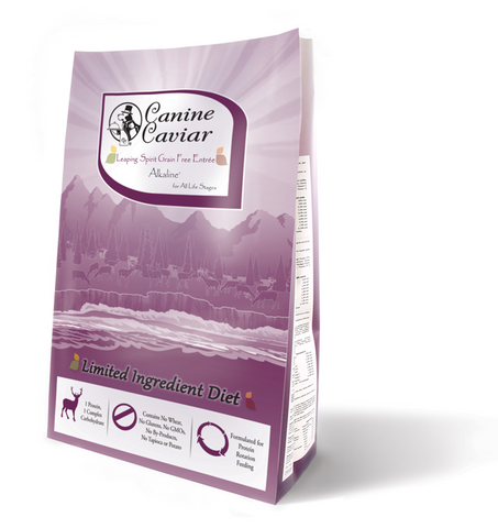 Canine Caviar Leaping Spirit Holistic Grain Free Entree Dry Dog Food