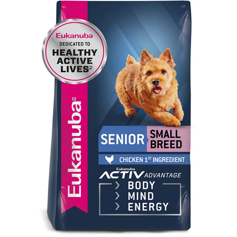 Eukanuba Small Breed Senior Chicken Formula Dry Dog Food
