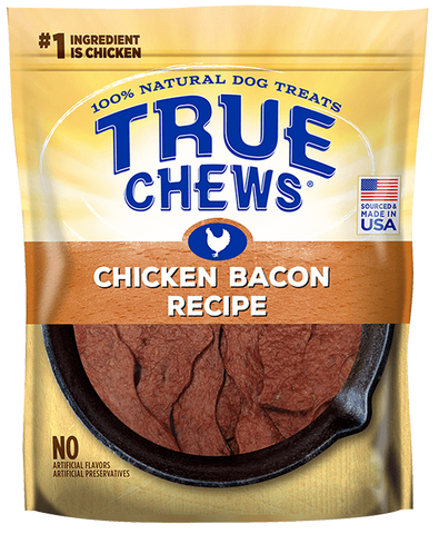 True Chews Premium Recipes Chicken & Bacon Recipe Dog Treats
