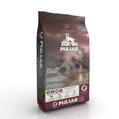 Horizon Pulsar Grain Free Turkey Formula Dry Dog Food