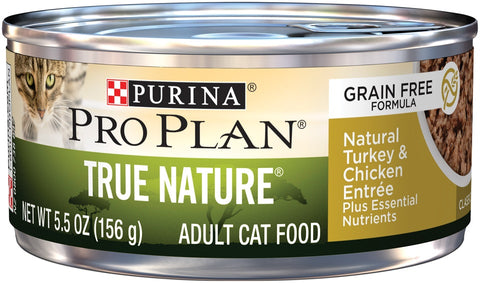 Purina Pro Plan True Nature Grain Free Adult Turkey & Chicken Entree Canned Cat Food