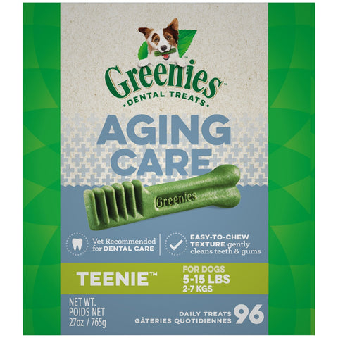Greenies Aging Care Teenie Dental Care Dog Treats