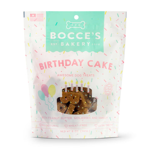 Bocce's Bakery Birthday Cake Recipe Biscuit Dog Treats