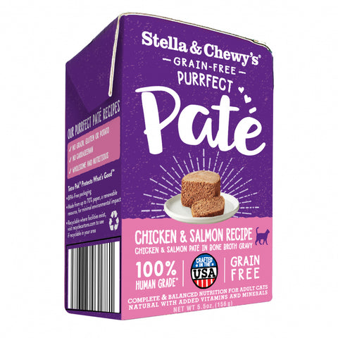 Stella & Chewy's Purrfect Pate Chicken & Salmon Medley Recipe Wet Cat Food