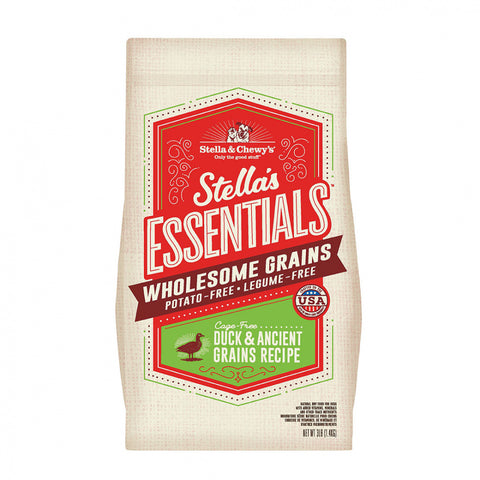 Stella & Chewy's Stella's Essentials Kibble Cage Free Duck & Wholesome Grains Recipe Dry Dog Food