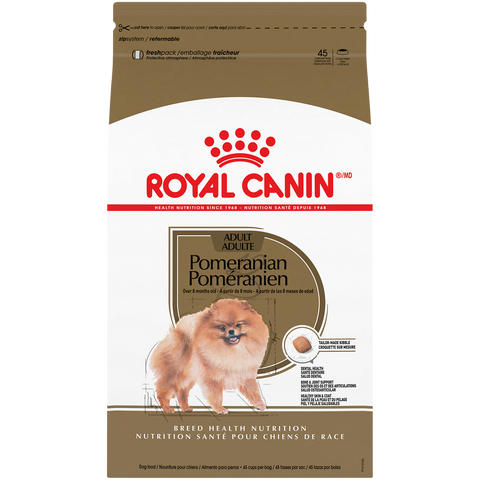 Royal Canin Breed Health Nutrition Pomeranian Adult Dry Dog Food
