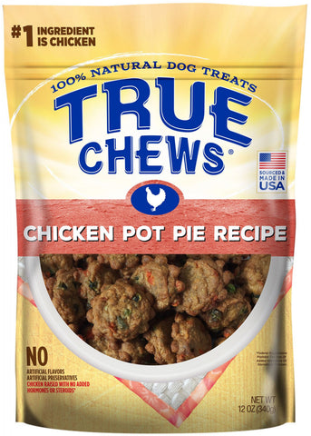 True Chews Chicken Pot Pie Recipe Dog treats