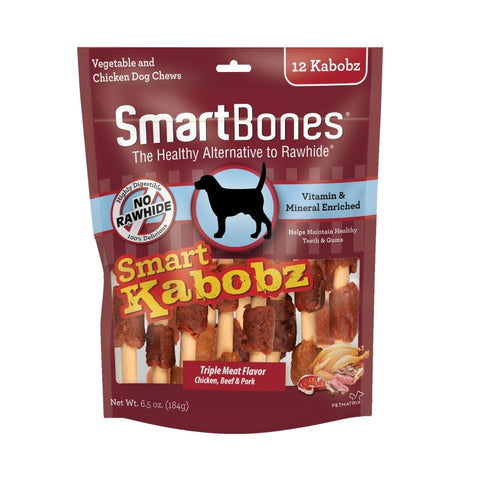 SmartBones Kabobz Dog Treat
