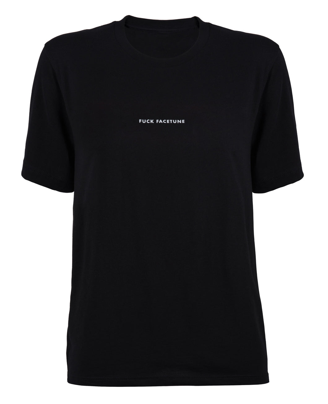 Fuck Facetune Tee - Black