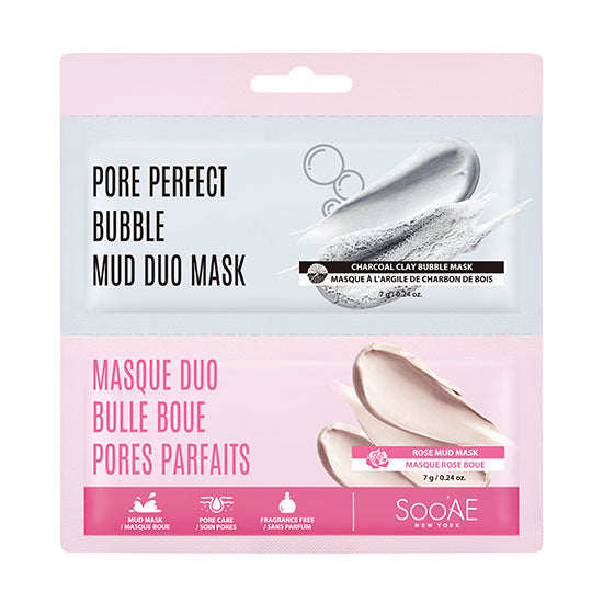 PORE PERFECT BUBBLE MUD DUO MASK - Soo'Ae Canada