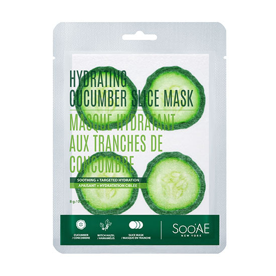 Hydrating Cucumber Slice Mask - Soo'Ae Canada