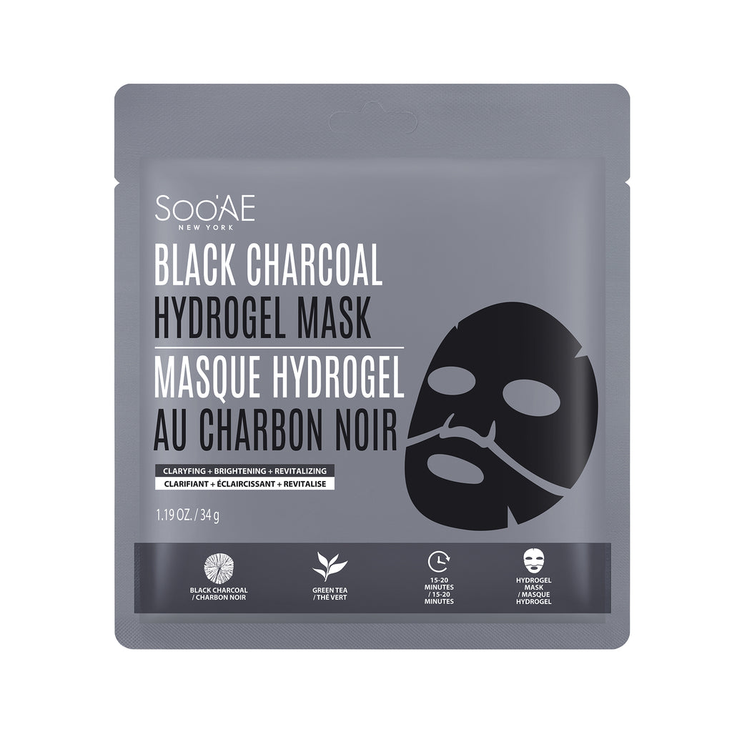 BLACK CHARCOAL HYDROGEL MASK