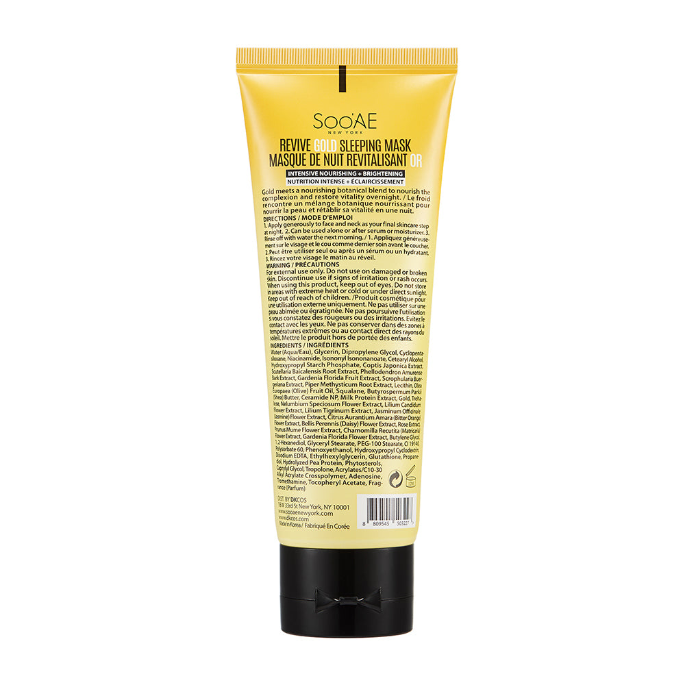 Revive Gold Sleeping Mask Tube - Soo'Ae Canada