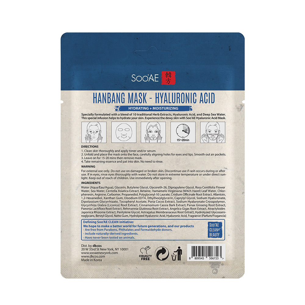 Hanbang Mask – Hyaluronic Acid