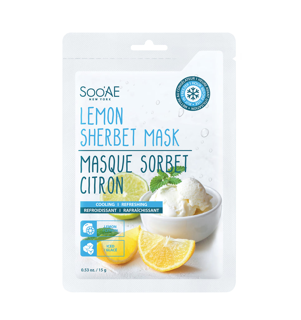 LEMON SHERBET MASK