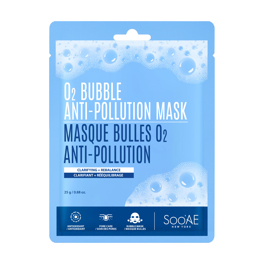 O2 Bubble Anti-Pollution Mask - Soo'Ae Canada