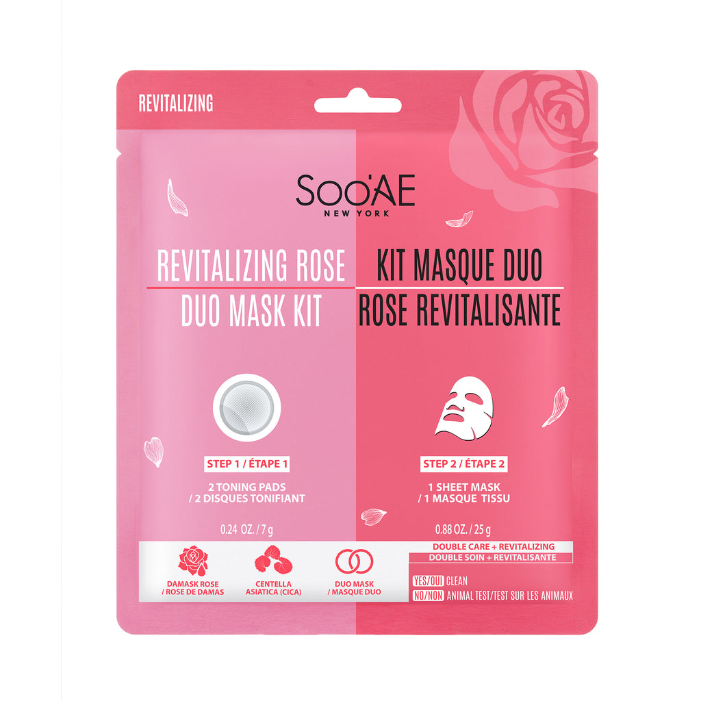 Revitalizing Rose Duo Mask Kit