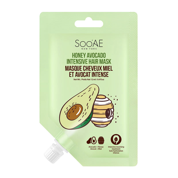 Honey Avocado Intensive Hair Mask - Soo'Ae Canada