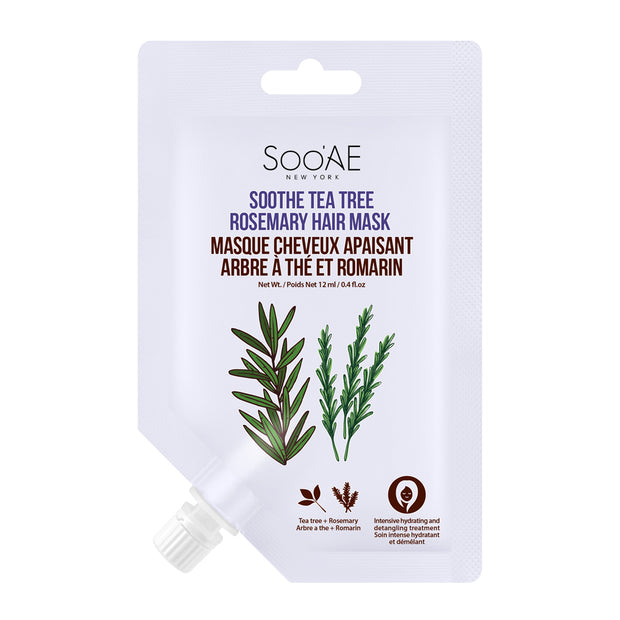 Soothe Tea Tree Rosemary Hair Mask - Soo'Ae Canada