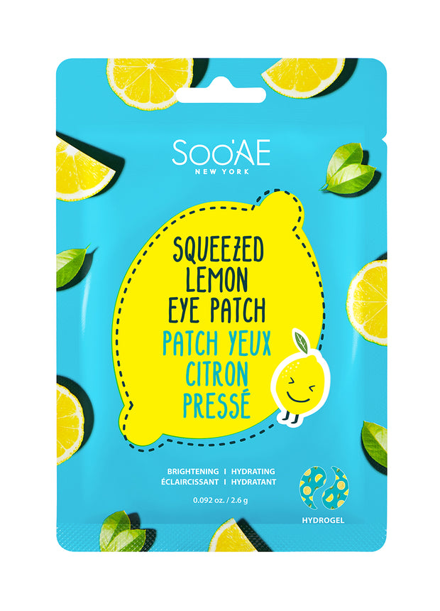 SQUEEZED LEMON EYE PATCH